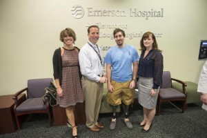 Jeff+Bauman+at+Emerson+Hospital+for+Nurses+Week+with+Emerson+IACNO