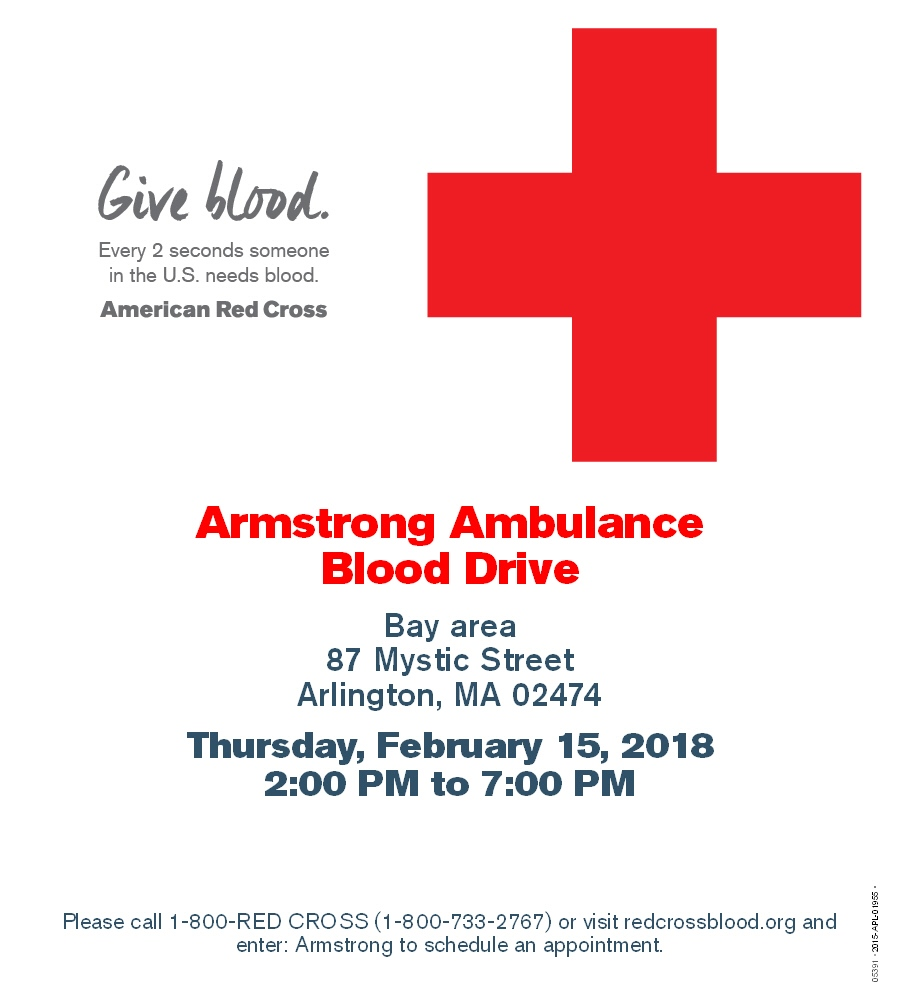 Armstrong and Red Cross Flyer for website
