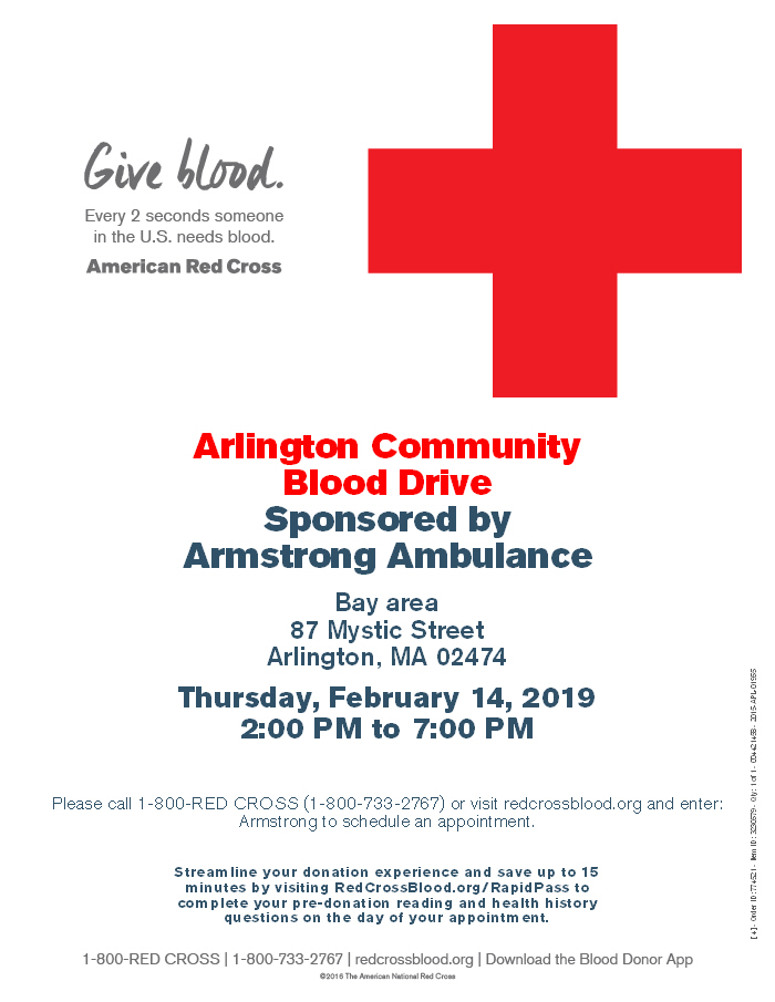 Blood Drive Flyer '19